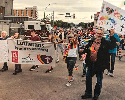 Pride Parade Prince George