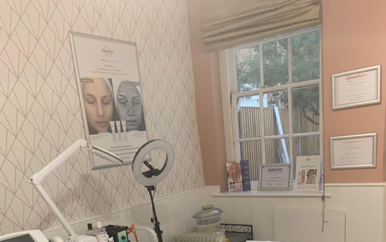 Treatment Room at the Skincare Clinic