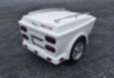 Kompact Kamp Skyline Cargo Trailer - Pull behind m