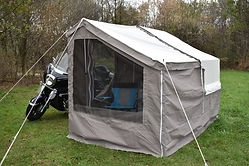 Mini Mate Motorcycle Camper Add-a-Room Package