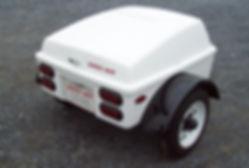 Kompact Kamp R66 Trike Trailer - Pull behind motorcycle cargo trailer
