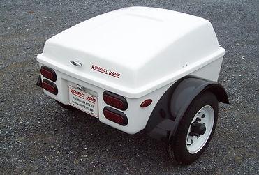 Kompact Kamp Route 66 Trike Trailer - Pull behind motorcycle cargo trailer