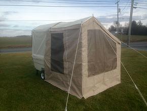 Kompact Kamp Mini Mate Camper with Add-a-Room package.
