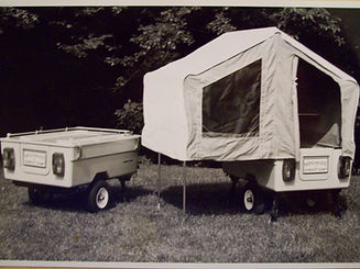Old Kompact Kamp Mini Mate Camper