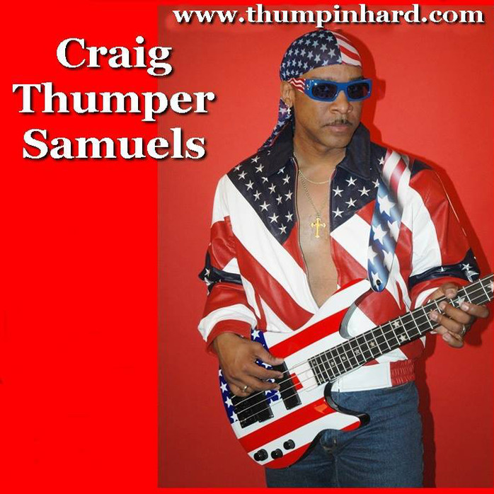 Craig THUMPER Samuels...one smooth Cat!