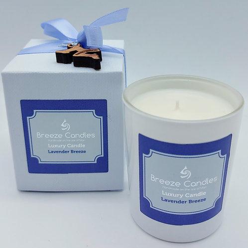 9cl Boxed Candle Jar - Lavender Breeze