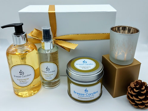 Frankincense & Myrrh Christmas Gift Set