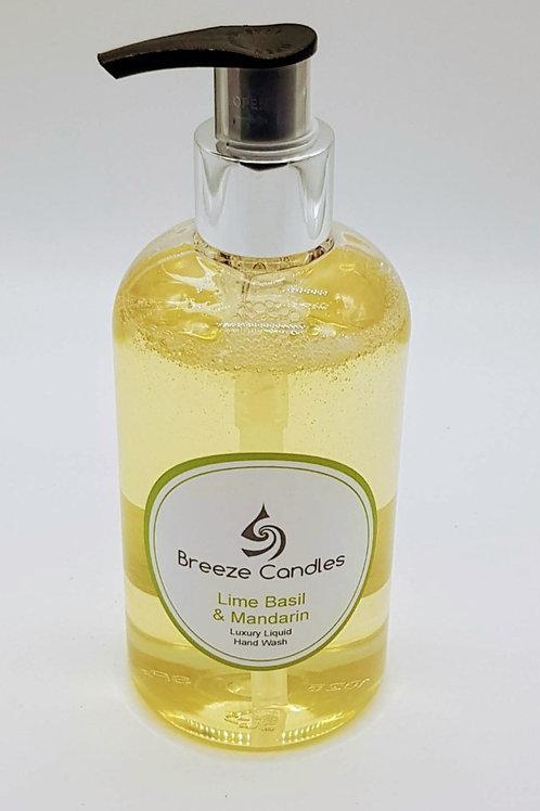 Luxury Fragrance Hand Wash - Lime Basil & Mandarin