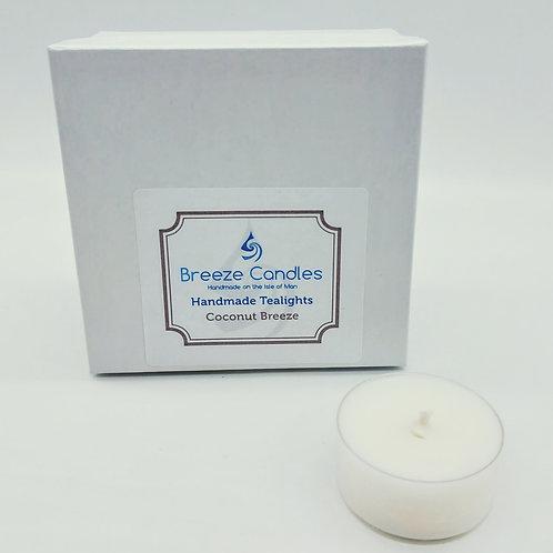 Tealights- 8 per pack - Coconut Breeze
