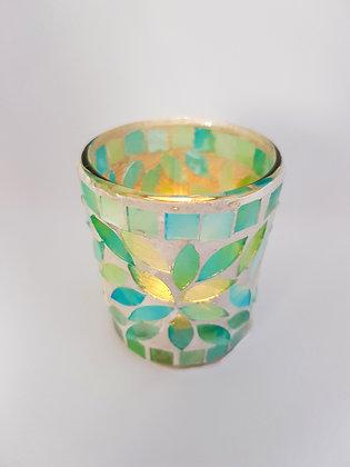 Green Pastel Mosaic 7cm