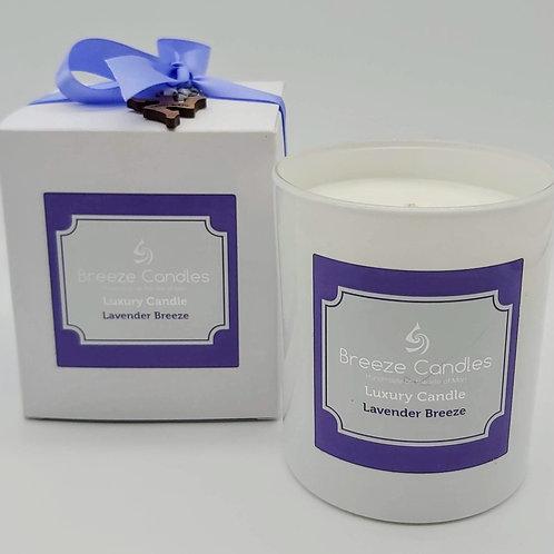 30cl Glass Jar - Lavender Breeze