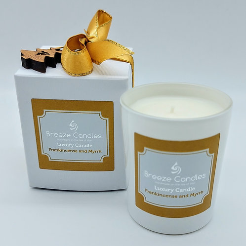 Christmas 30cl Boxed Candle Jar - Frankincense & Myrrh