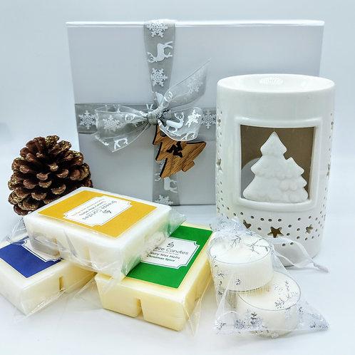 Christmas Wax Melter Gift Set