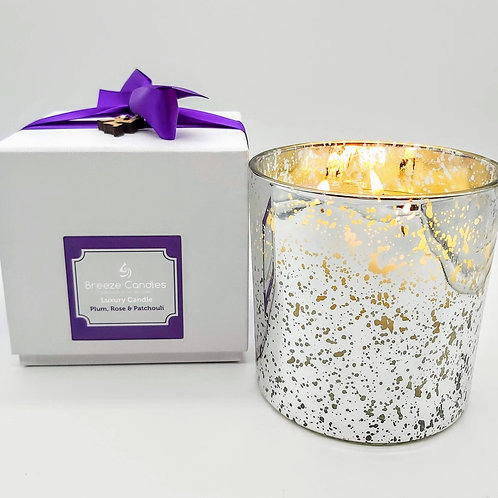 Grand 3 Wick Luxury Boxed Candle Jar