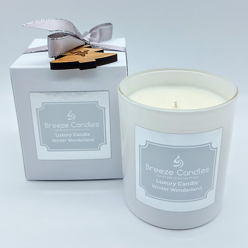 Christmas 9cl Boxed Candle Jar - Winter Wonderland