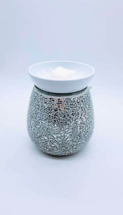 Silver Mosaic Electric Wax Melter