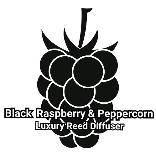 Nero Range Reed Diffuser - Black Raspberry & Peppercorn