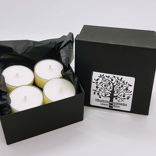 Nero Range Tealights - Black Pomegranate