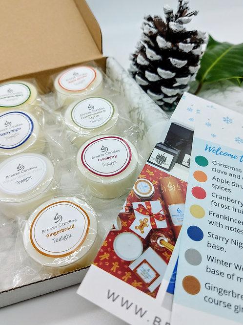 Christmas Tealight Sample Box