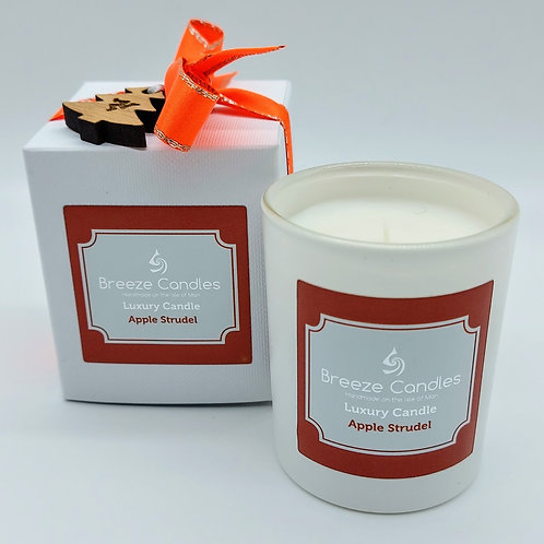 Christmas 30cl Boxed Candle Jar - Apple Strudel