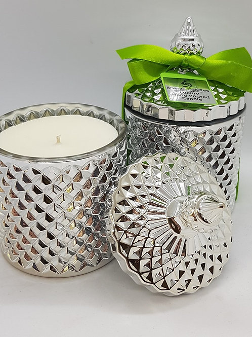 Special Edition Lime Basil & Mandarin Geo Candle Jar
