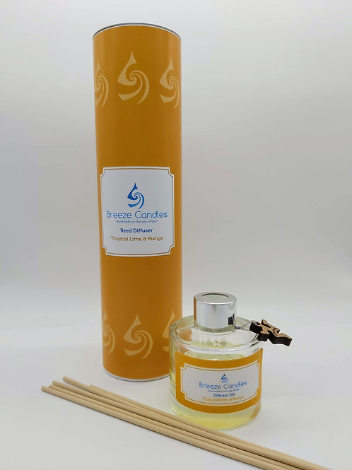 Reed Diffuser - Tropical Lime & Mango