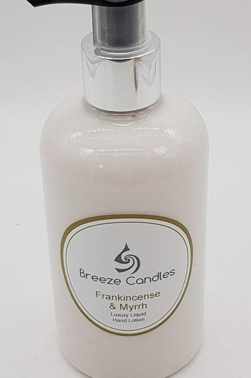 Luxury Hand & Body Lotion - Frankincense & Myrrh