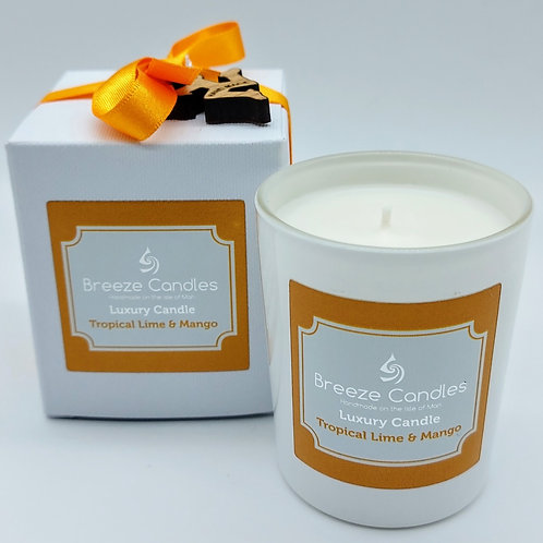 9cl Boxed Candle Jar - Tropical Lime & Mango