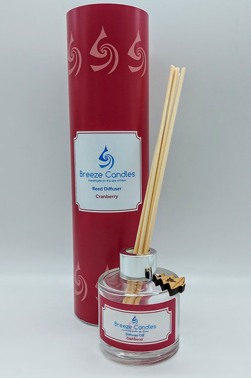 Christmas Reed Diffuser - Cranberry
