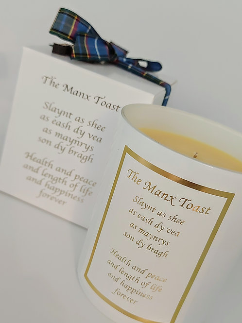 The Manx Toast Candle 30cl