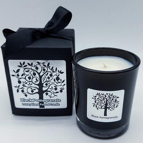 Nero Range 9cl Boxed Candle Jar - Black Pomegranate