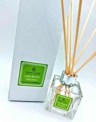 Reed Diffuser - Lime Basil and Mandarin