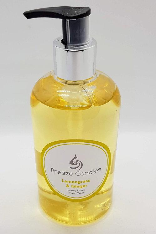 Luxury Fragrance Hand Wash - Lemongrass & Ginger
