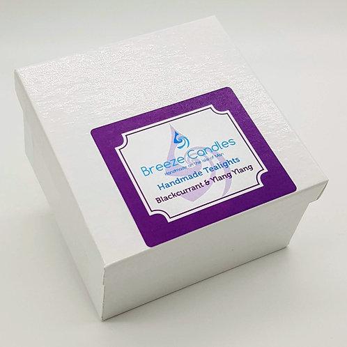 Tealights- 8 per pack - Blackcurrant & Ylang Ylang