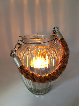 Chunky Rope Tealight Holder