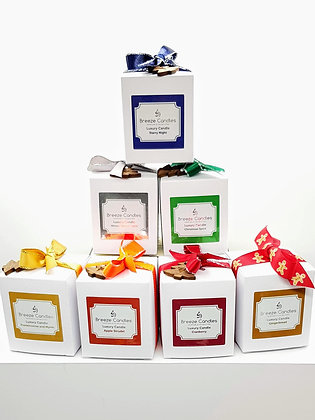 Christmas 9cl Boxed Candle Jar