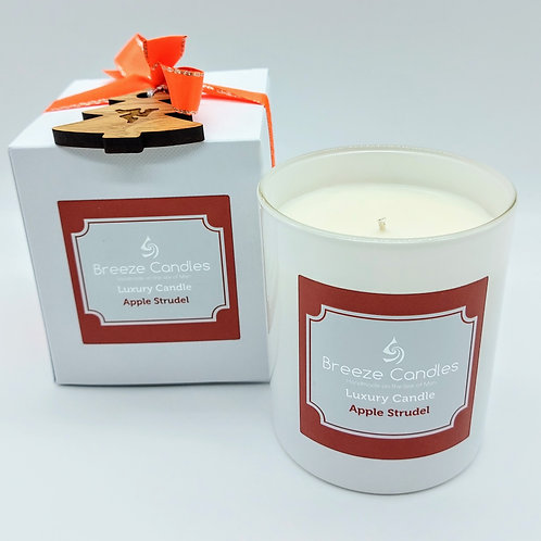 Christmas 9cl Boxed Candle Jar - Apple Strudel