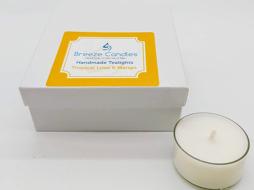 Tealights- 8 per pack - Tropical Lime & Mango