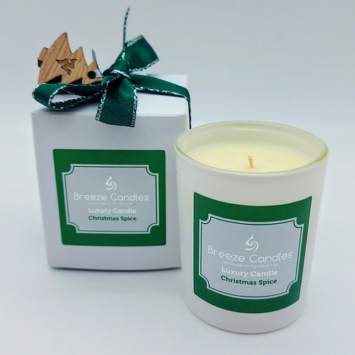 Christmas 30cl Boxed Candle Jar - Christmas Spice