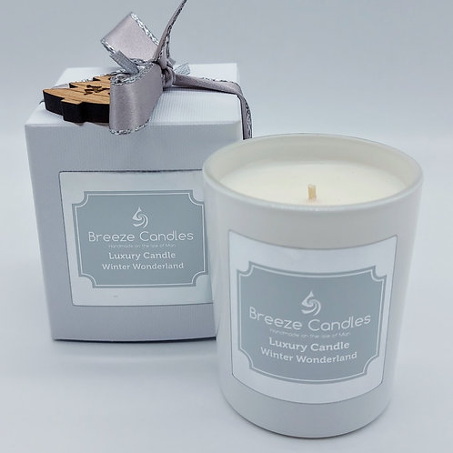 Christmas 30cl Boxed Candle Jar - Winter Wonderland
