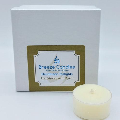 Christmas Tealights- 8 per pack - Frankincense & Myrrh