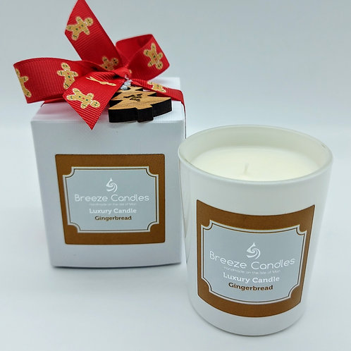 Christmas 30cl Boxed Candle Jar - Gingerbread