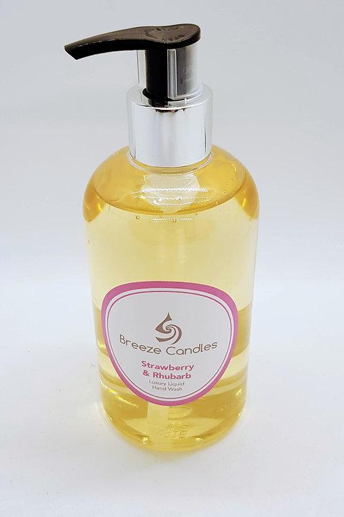 Luxury Fragrance Hand Wash - Strawberry & Rhubarb