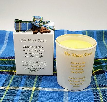 The Manx Toast Candle 9cl