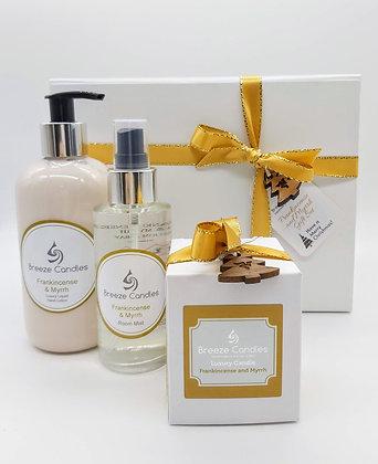 Frankincense and Myrrh Luxury Gift Box