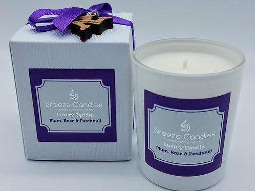 9cl Boxed Candle Jar - Plum Rose & Patchouli