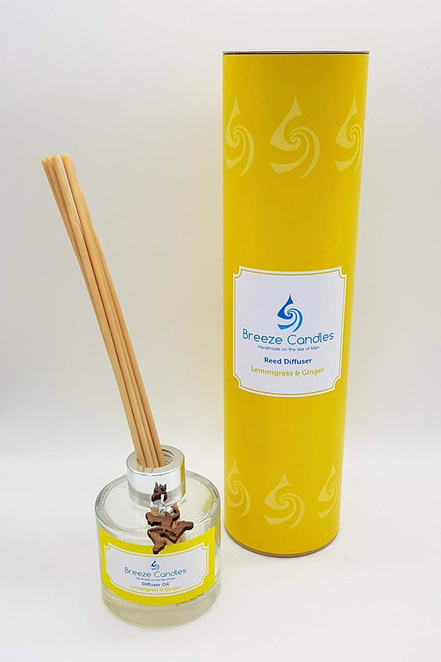 Reed Diffuser - Lemongrass and Ginger