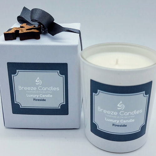 9cl Boxed Candle Jar - Fireside
