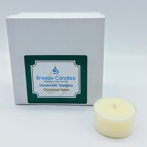 Christmas Tealights- 8 per pack - Christmas Spice