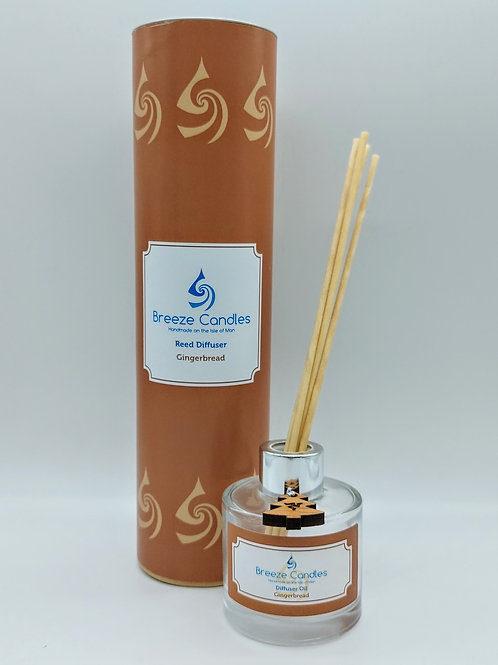 Christmas Reed Diffuser - Gingerbread